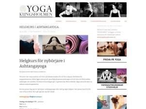 Helgkurs I Ashtangayoga - Yoga Kungsholmen