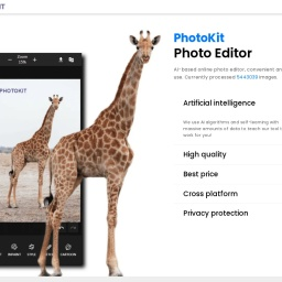 Free online photo editor - PhotoKit.com