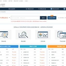 alexa排名_alexa世界排名 - Alexa网站查询