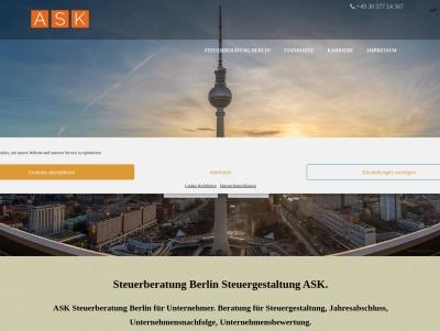 ASK Steuerberatung - Steuerberater in Berlin. Thumb