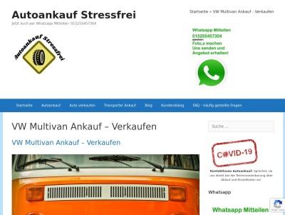 VW Multivan Ankauf - Verkaufen Archive - Autoankauf Stressfrei Thumb