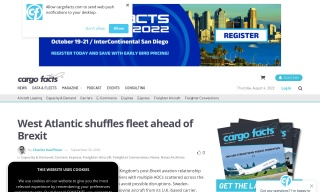 West Atlantic shuffles fleet ahead of Brexit