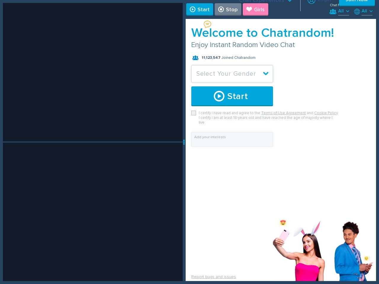 Chatrandom: Free Random Video Chat App