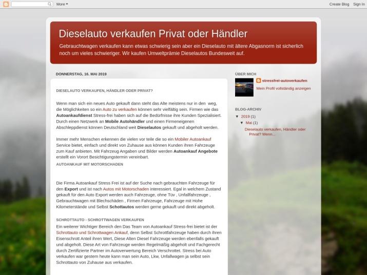 https://dieselautoverkaufen.blogspot.com/