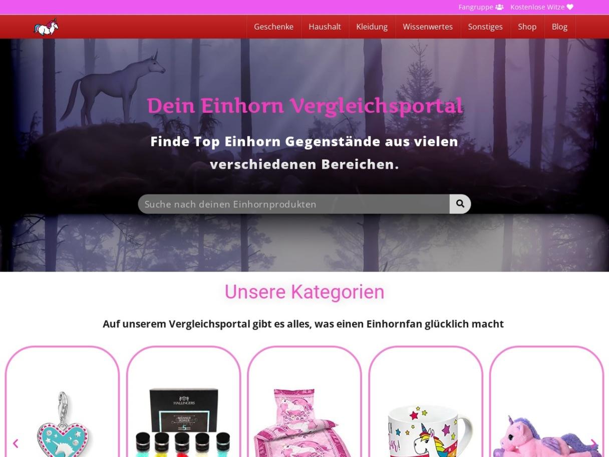 Einhornkaufen - Finde deine Lieblings Einhorn Produkte