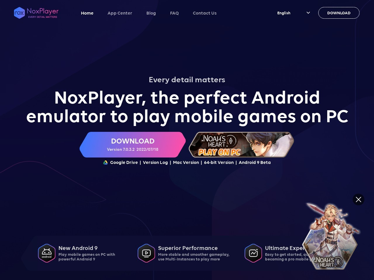 NoxPlayer - Free Android Emula