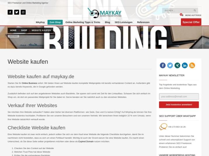 https://maykay.de/produkt-kategorie/website-kaufen/