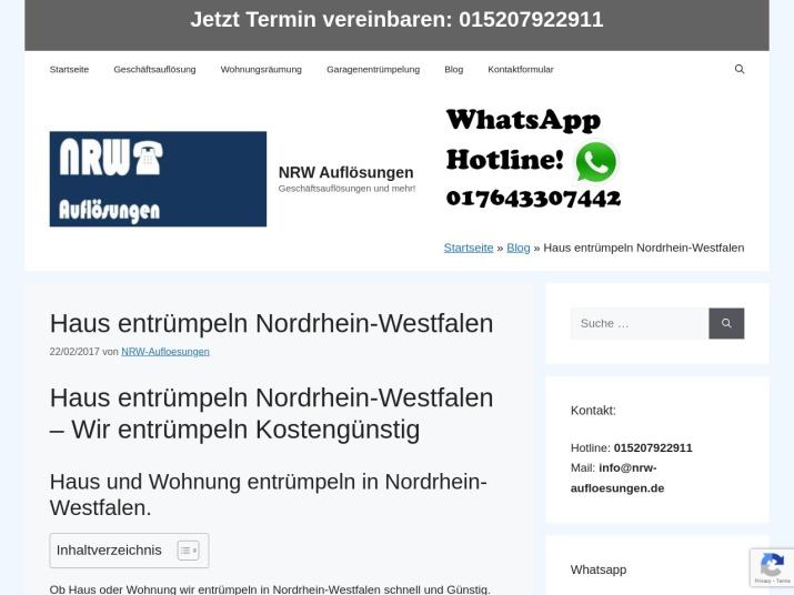 https://nrw-aufloesungen.de/haus-entruempeln-nordrhein-westfalen/