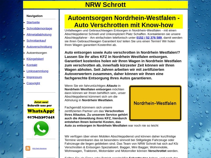https://nrw-schrott.de/autoentsorgen.html
