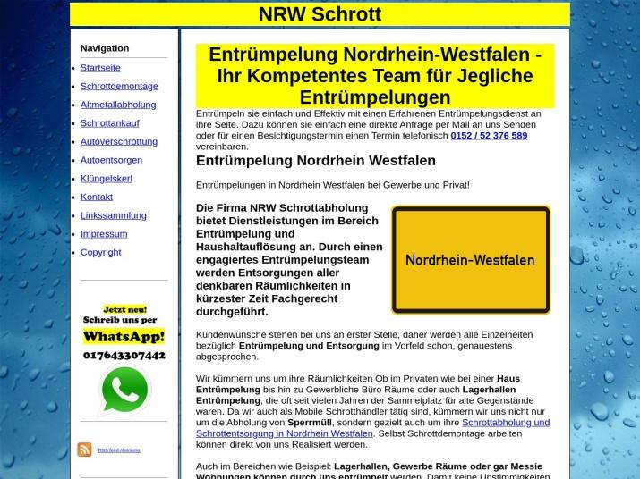 https://nrw-schrott.de/entruempelung.html