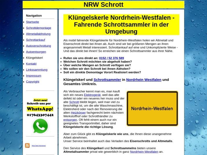 https://nrw-schrott.de/kluengelskerl.html