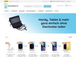 Phonedepot Homepage Screenshot