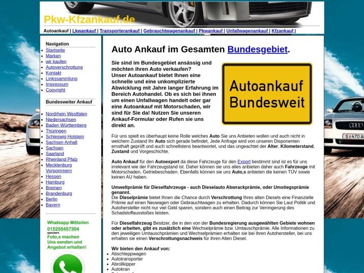 https://pkw-kfzankauf.de/autoankauf.html