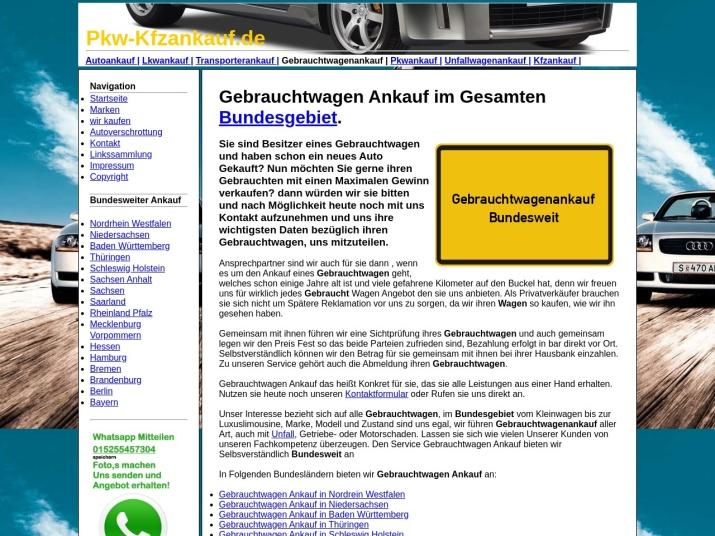 https://pkw-kfzankauf.de/gebrauchtwagenankauf.html