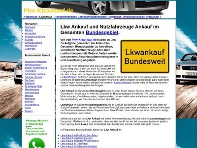 Lkw Ankauf Bundesweit   Nutzfahrzeuge Ankauf in Deutschland Thumb