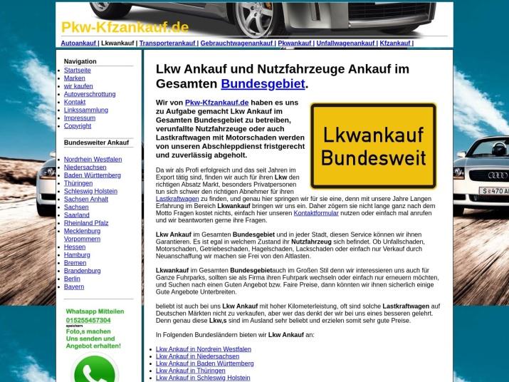 https://pkw-kfzankauf.de/lkwankauf.html