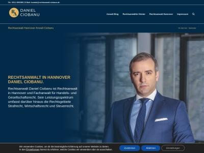Ihr Rechtsanwalt in Hannover könnte Anwaltskanzlei Ciobanu sein. Thumb