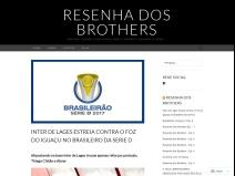 Resenha Dos Brothers