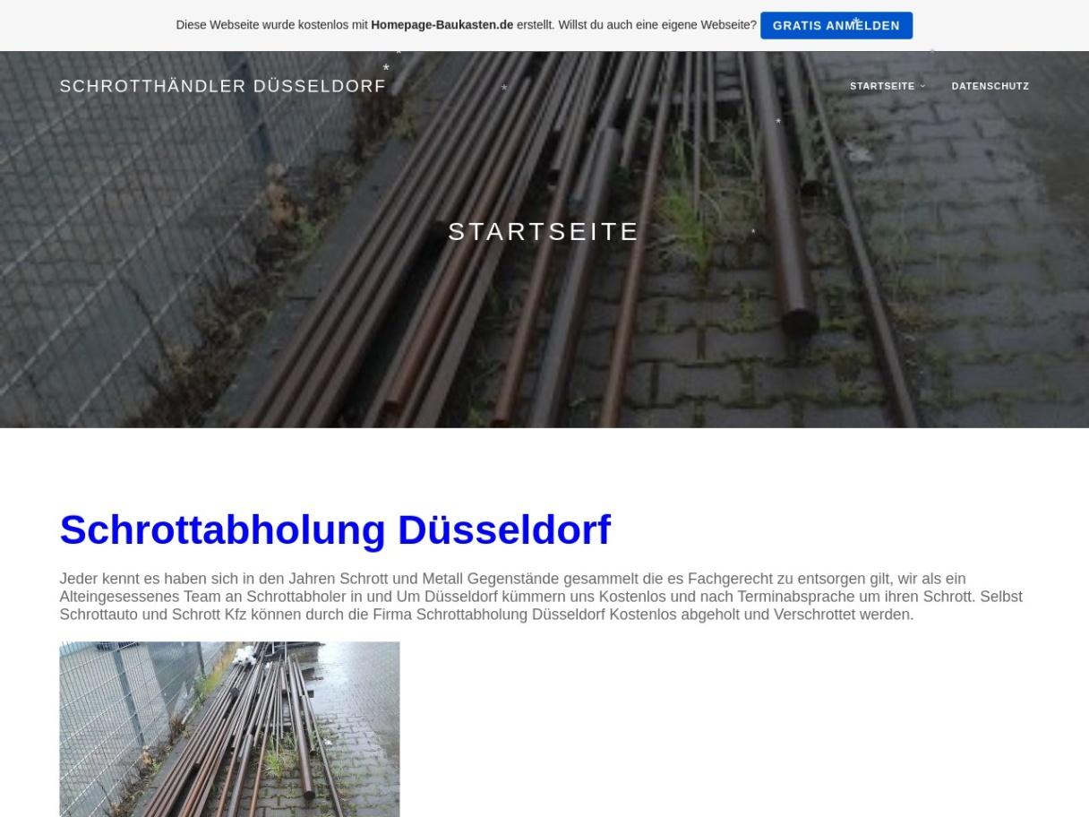 Schrotthändler aus Düsseldorf