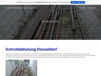 Schrotthändler aus Düsseldorf Thumb