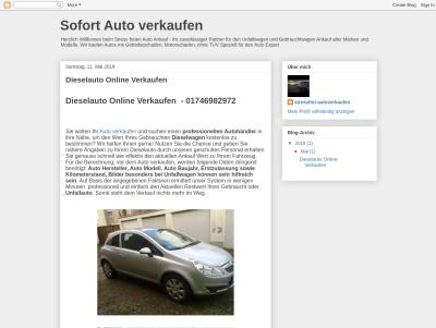 Sofort Auto verkaufen Thumb