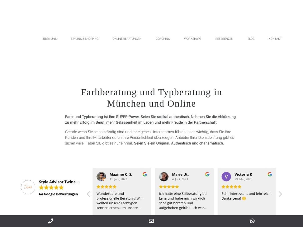 Style Advisor - Personal Stylists München