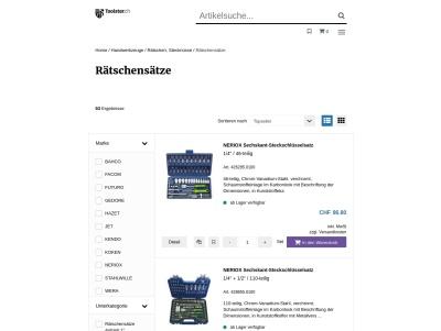 Rätschensätze - Brütsch/Rüegger Werkzeuge AG Thumb