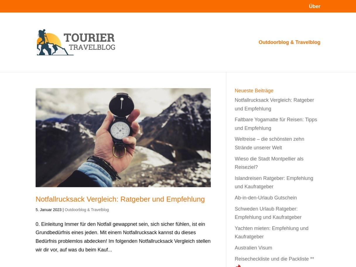 Tourier: Travelblog für Reise und Urlaub