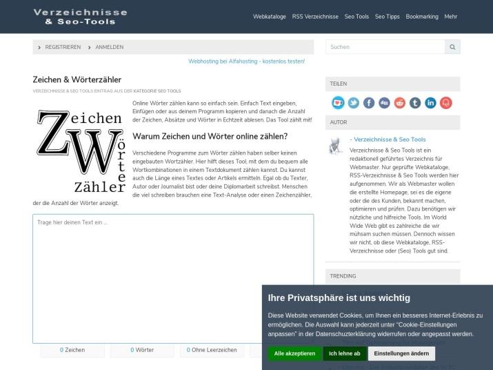 https://verzeichnisse-seotools.eiwen.net/eintrag/6/seo-tools/zeichen-woerterzaehler