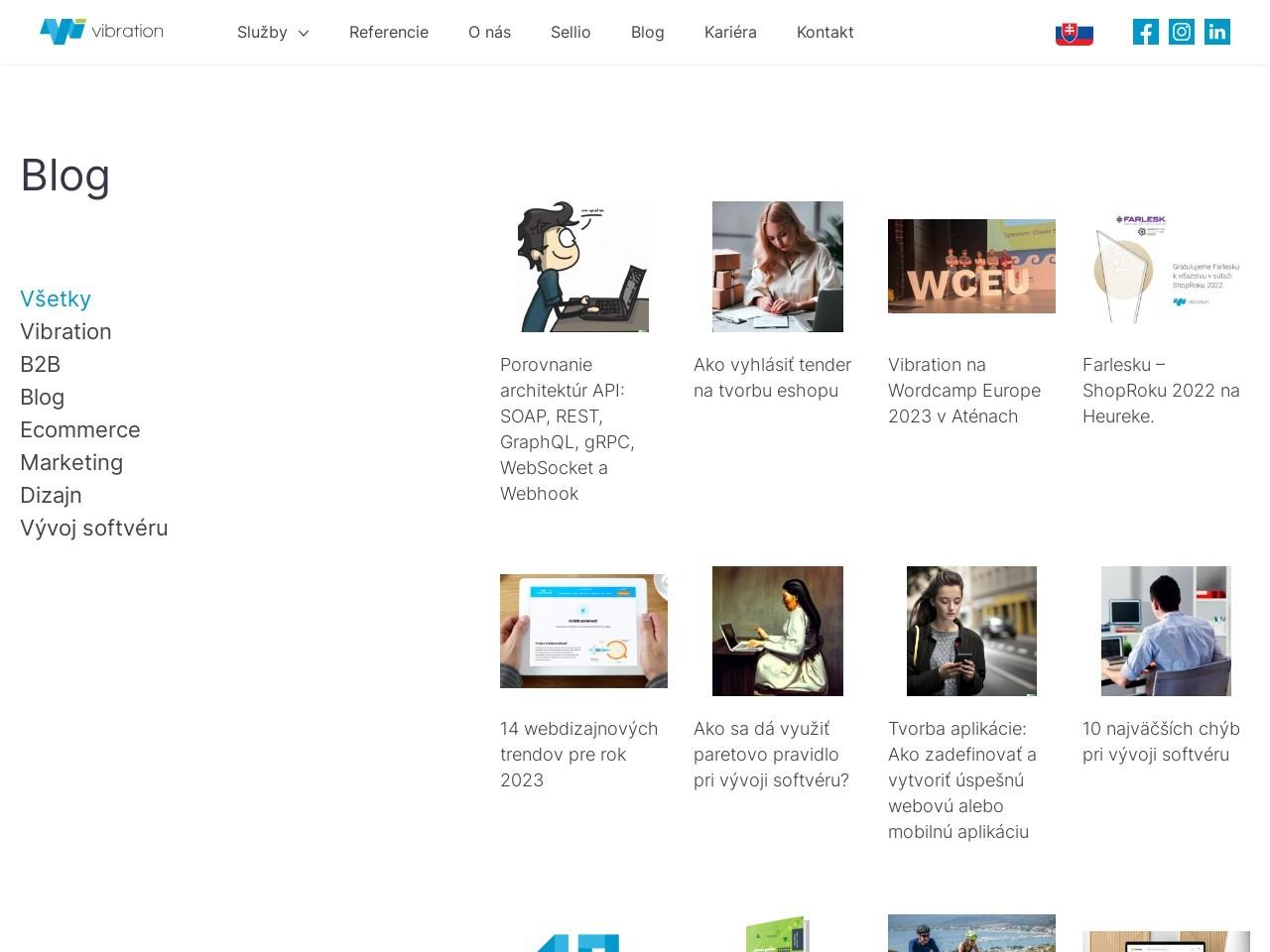 vibration.sk blog