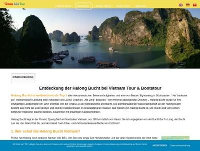 Halong Bucht UNESCO Weltnaturerbe entdecken Thumb