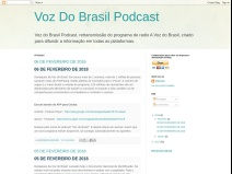 VOZ DO BRASIL PODCAST [retransmissão]