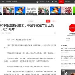 面对BBC不断泼来的脏水,中国专家在节目上怒斥对方,近乎咆哮! 汪文斌 英国_网易订阅