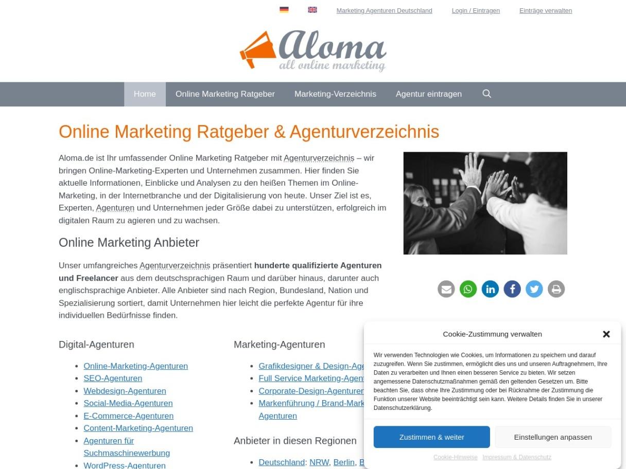 Marketing-Wissen, Trends & Agenturen