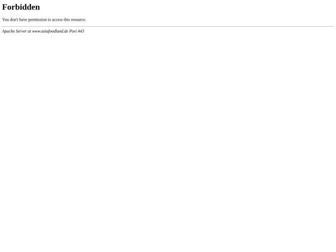 Screenshot des Onlineshops von Asiafoodland