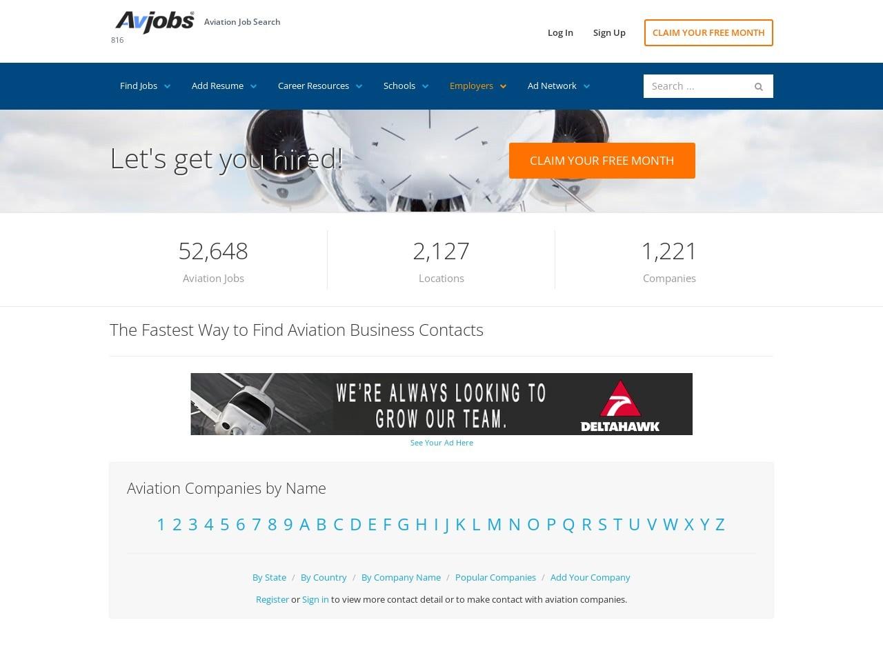 Aviation Resource Management Oakland NJ United States