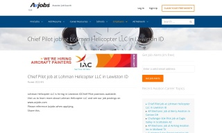 Nextant 400XTi Lead Captain job at Corporate Wings in Washington DC