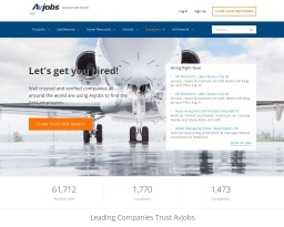 Get Hired FASTER with Avjobs.com - Aviation Jobs