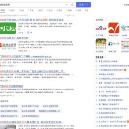桂林信息网_百度搜索