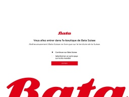 Bata Homepage Screenshot