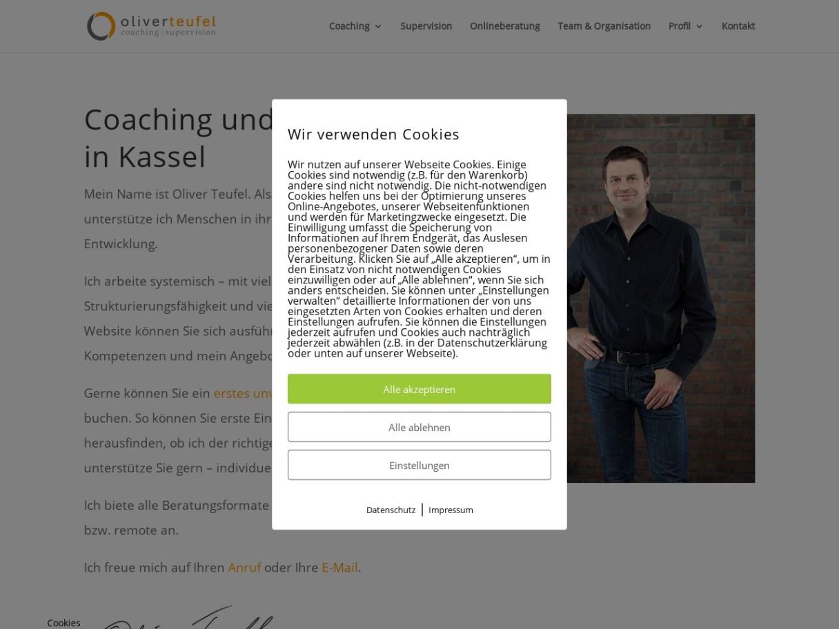Oliver Teufel - Coach & Supervisor in Kassel
