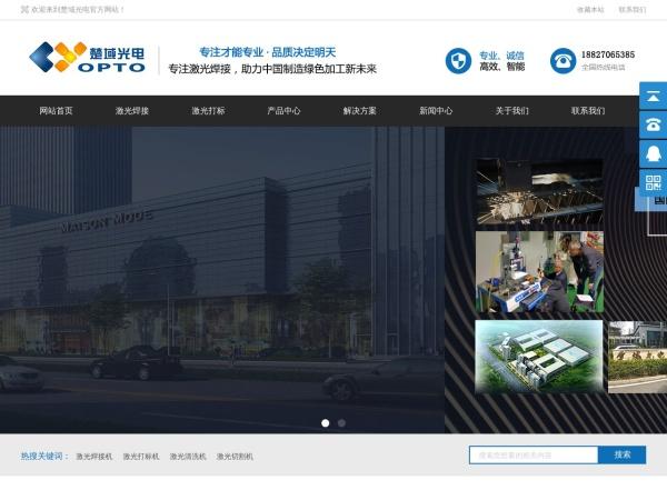 www.cyopto.cn的网站截图