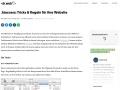 Vorschau auf .htaccess: Tricks & Regeln für ihre Website – Dr. Web