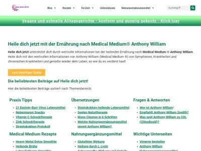Gesundmachtfroh.com Anthony William konforme Ernährung Thumb