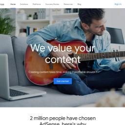 Google AdSense - 利用网站创收
