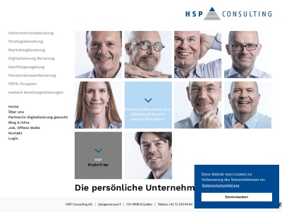 HSP Consulting AG, St. Gallen Thumb