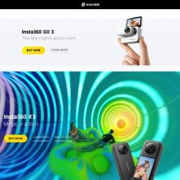 Insta360 | Action Cameras | 360 Cameras | VR Cameras