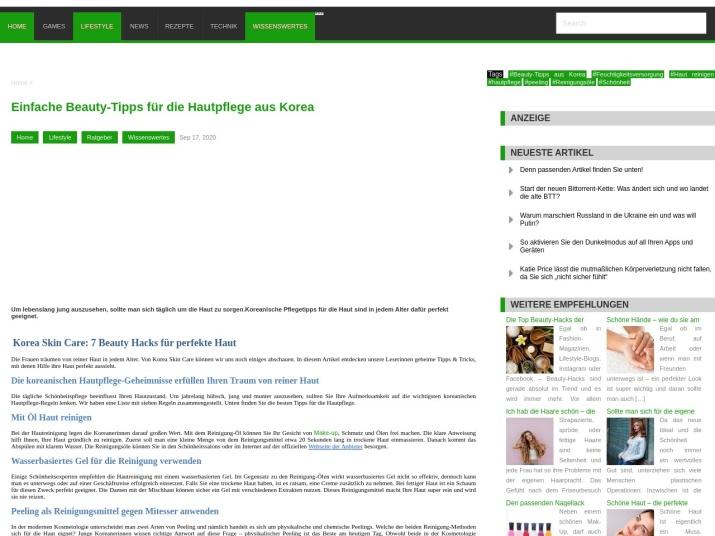 https://www.interestshare.de/einfache-beauty-tipps-fuer-die-hautpflege-aus-korea/