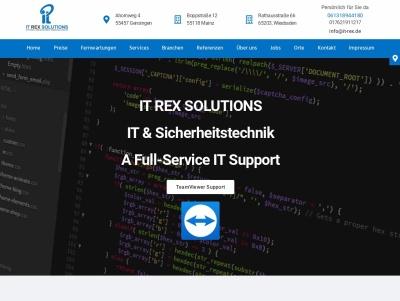 it-rex solutions computer reparatur netzwerksicherheit webdesign Thumb