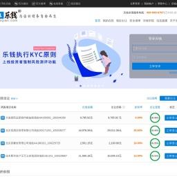乐钱 Leqian.com 创新型众筹平台-合法、安全、透明!